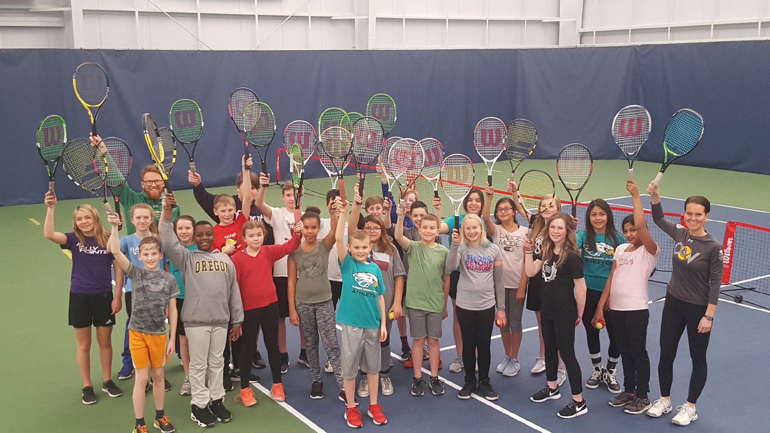 cwb schools tennis program goes from strength to strength