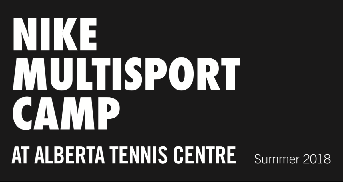 multi-sport camps at the alberta tennis centre