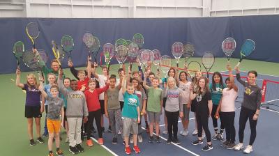 Canadian Western Bank School Tennis Program making an impact in Calgary Schools